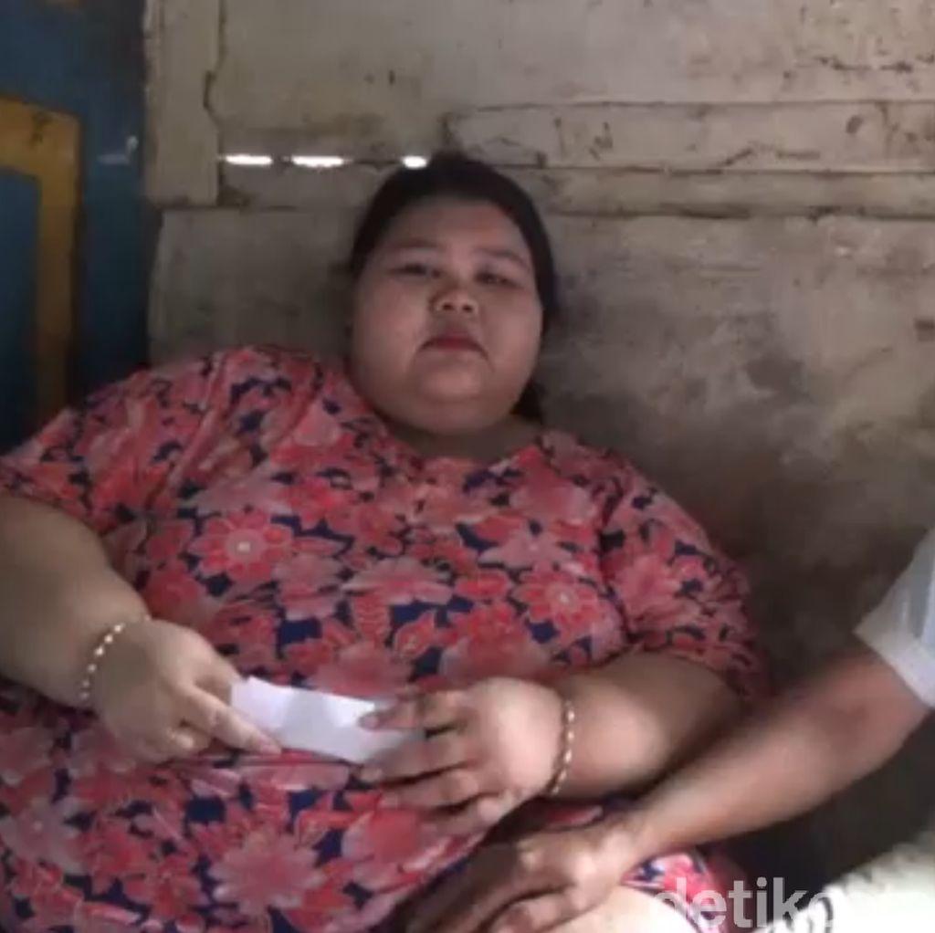 Kisah Sendu Silvia, Gadis asal Lamongan Berbobot 197 Kg