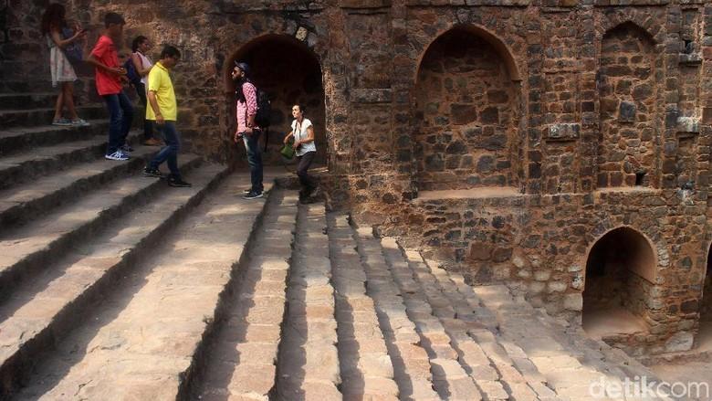 Ilustrasi objek sejarah di Delhi (Grandyos Zafna/detikcom)