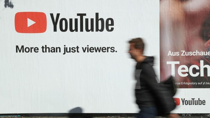 Ilustrasi YouTube. Foto: Sean Gallup/Getty Images