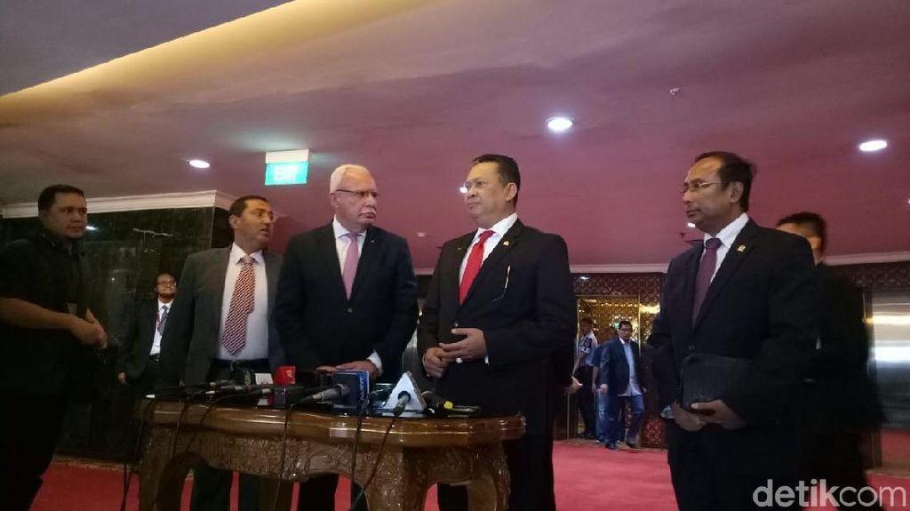 Terima Menlu Palestina, DPR Kecam Niat Australia terkait Yerusalem
