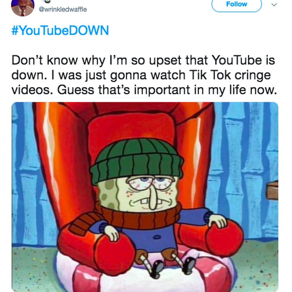 Deretan Meme Kocak YouTube Tumbang