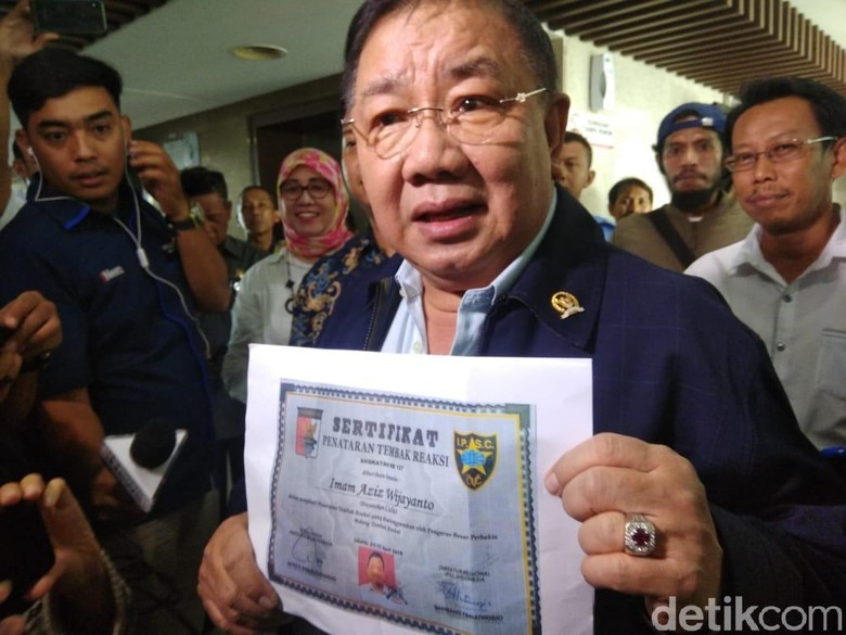 2 Tersangka Penembak DPR PNS Kemenhub, Wenny: Kok Jam Kerja Latihan?