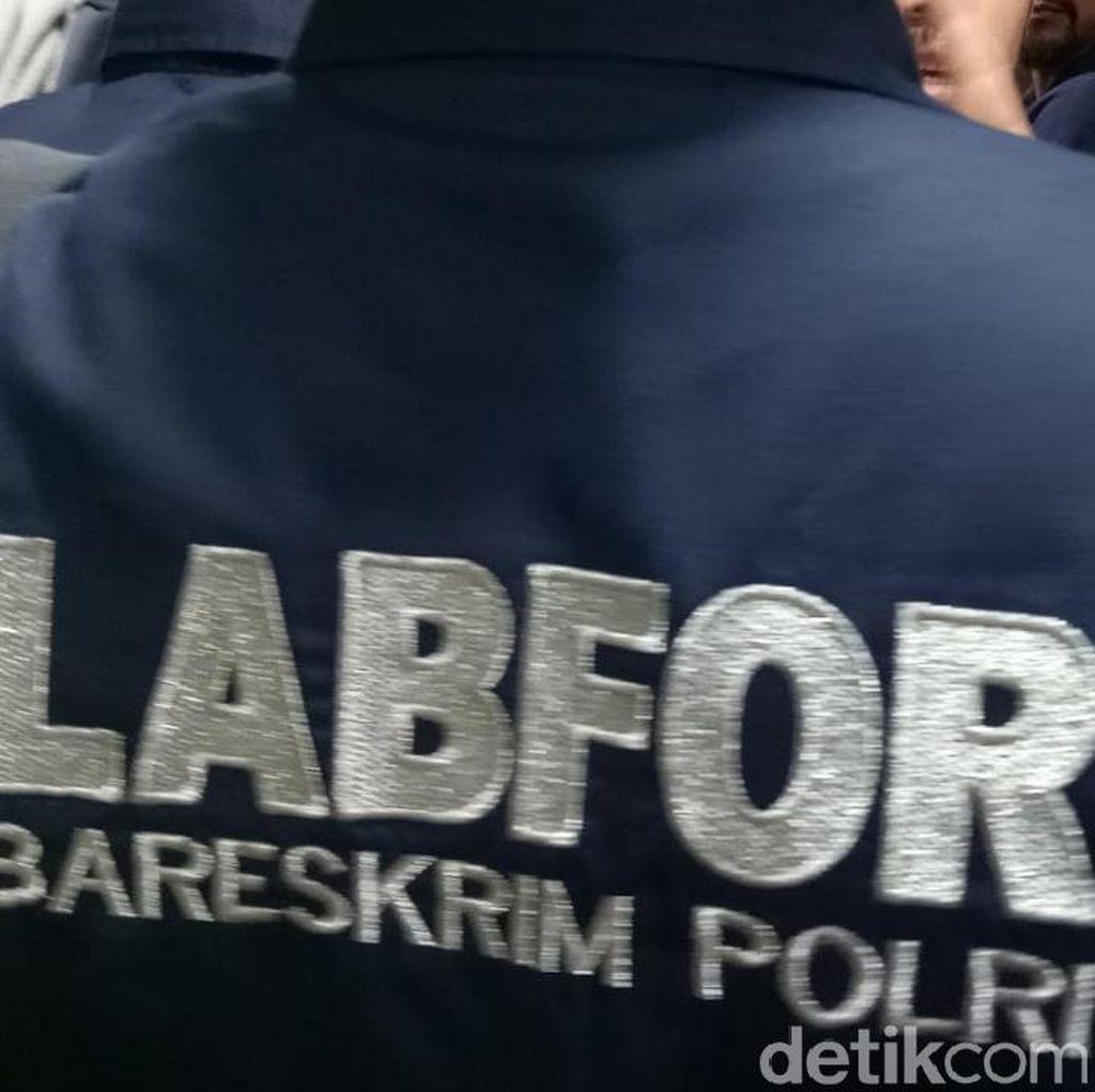 Polisi Olah TKP Temuan Peluru di Gedung DPR Ruang F-PD