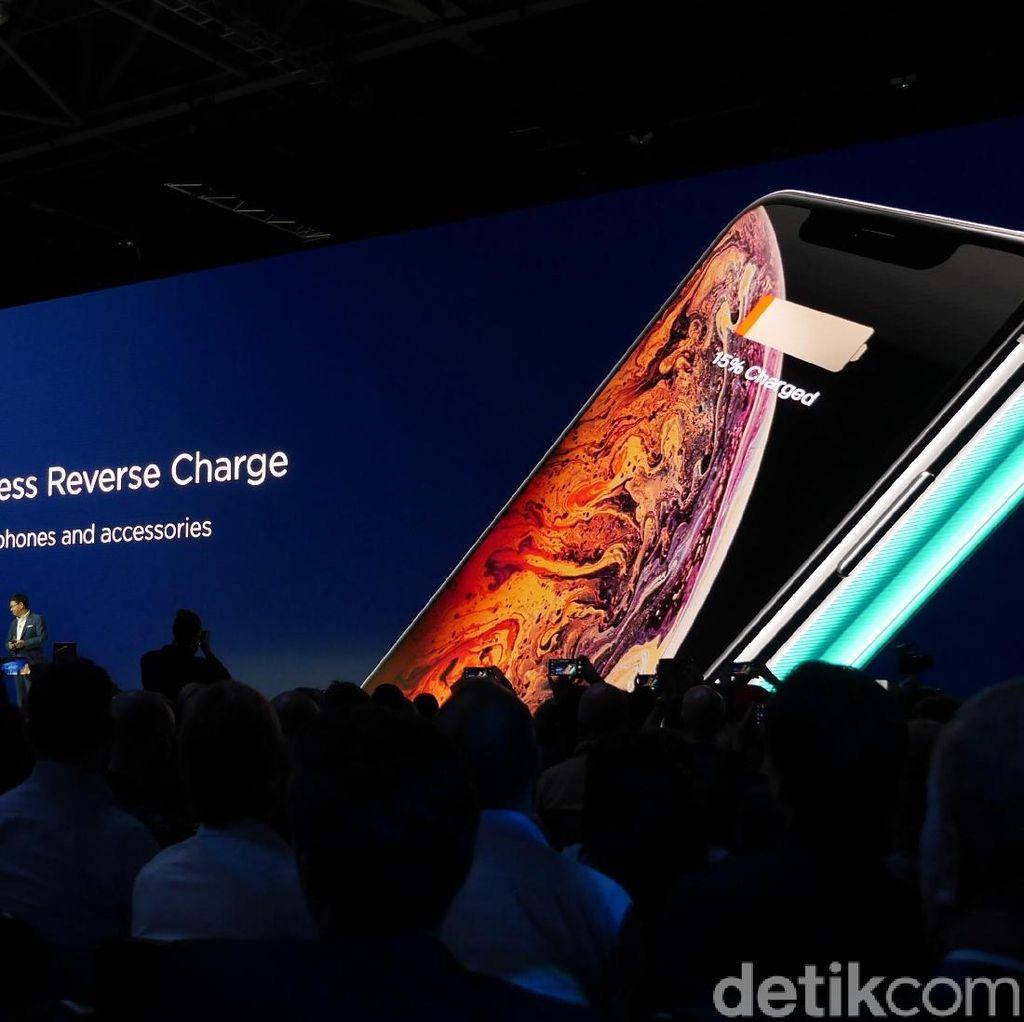 Huawei Mate 20 Pro Bisa Isi Baterai iPhone XS secara Wireless