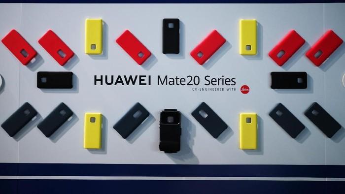 Seri Huawei Mate 20 (Foto: REUTERS/Hannah McKay)