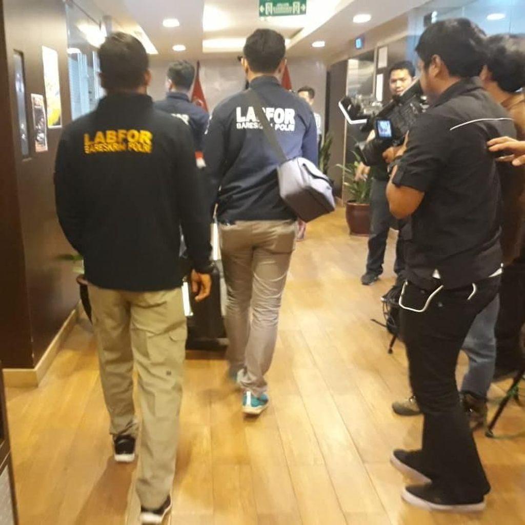 Polisi Sisir Gedung DPR, Cari Kemungkinan Adanya Peluru Nyasar