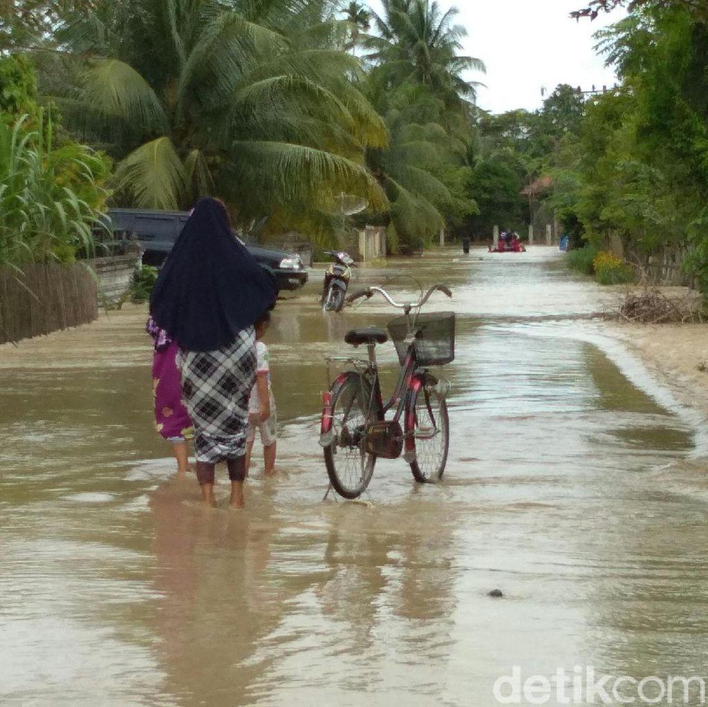35 Desa di Aceh Utara Dikepung Banjir, Warga Mulai Mengungsi