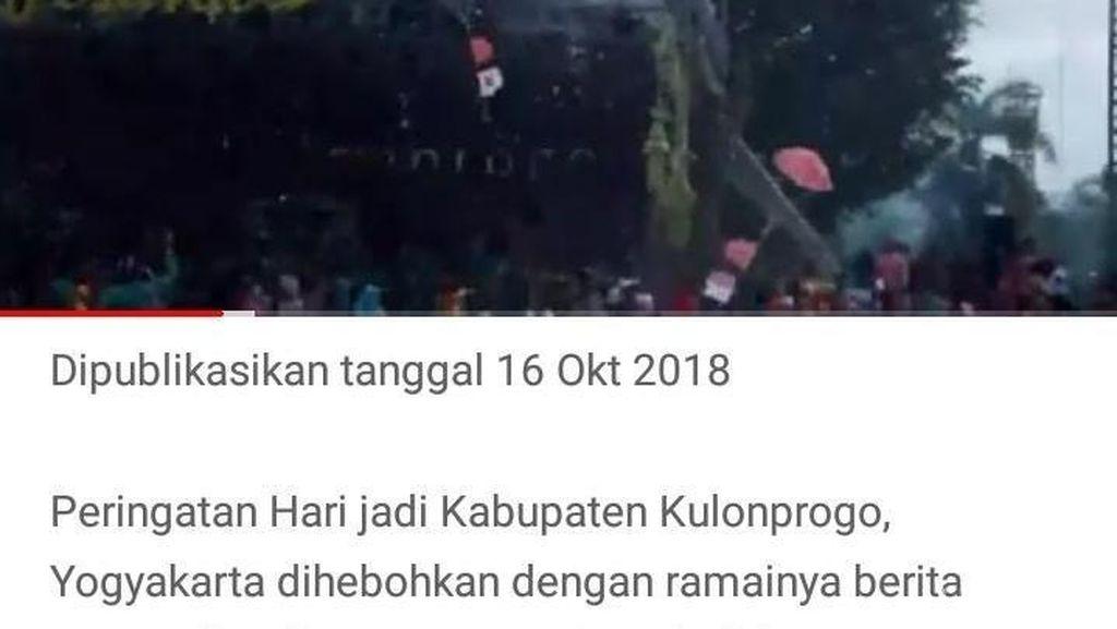 Insiden Bendera Cina di HUT Kulon Progo, Panitia Kecolongan?