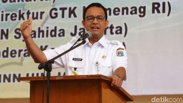 Soal Wagub DKI, Anies Tunggu Kesepakatan Gerindra-PKS