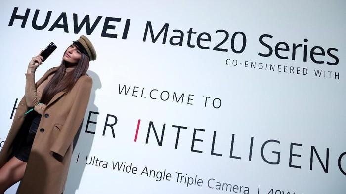Huawei bertekad menggeser Samsung dari posisi pertama di dunia smartphone global (Foto: REUTERS/Hannah McKay)