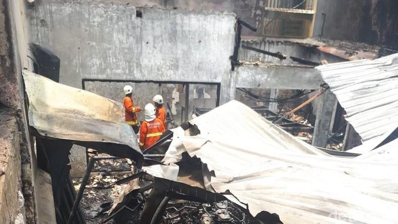 Puluhan Motor Pelajar SMKN 1 Hangus Terbakar, Sempat Terdengar Ledakan