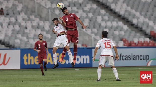 Qatar kalah 1-2 dari Uni Emirat Arab di laga perdana Grup A Piala Asia U-19 2018.
