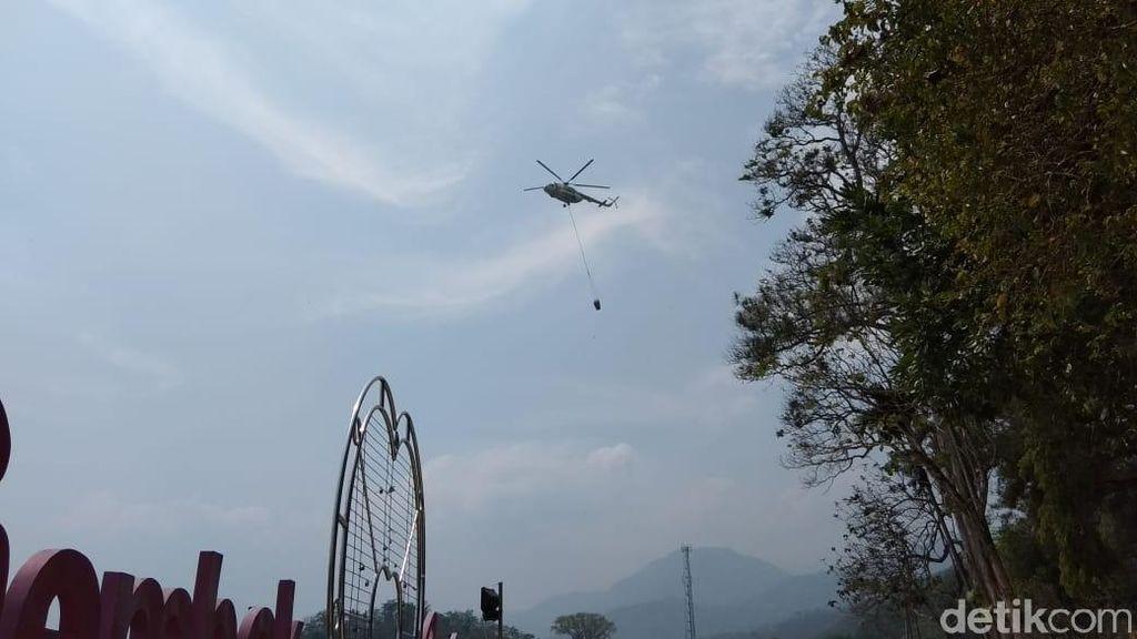 Luas Lahan Gunung Merbabu yang Terbakar Capai 300 Hektare