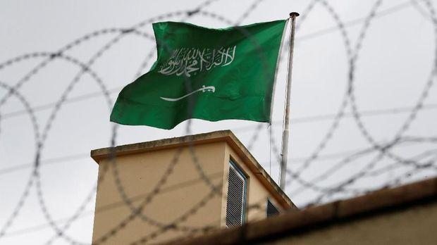 Konsulat Arab Saudi di Istanbul, Turki, tempat Khashoggi terbunuh,