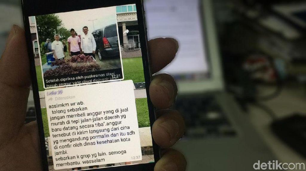 Viral Anggur Berformalin Dijual di Pinggir Jalan, BPOM Pastikan Aman