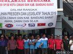 Ratusan Buruh di Cimahi-Bandung Barat Serukan Pemilu 2019 Damai