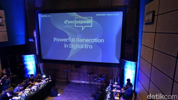 Pentingnya generasi powerful untuk sebarkan konten positif (Foto: Fino Yurio Kristo/detikINET)