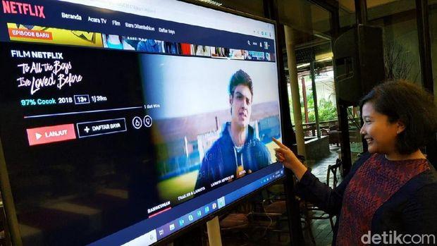 Netflix Kini Bisa 'Berbahasa' Indonesia (embargo)