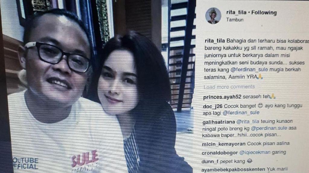 Rita Tila Bantah Gosip Nikah Siri dengan Sule