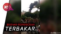 Video: Balkon Mal BSD Ciledug Diamuk Api, Asap Hitam Mengepul