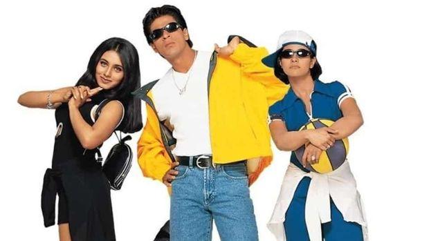 poster film Kuch Kuch Hota Hai