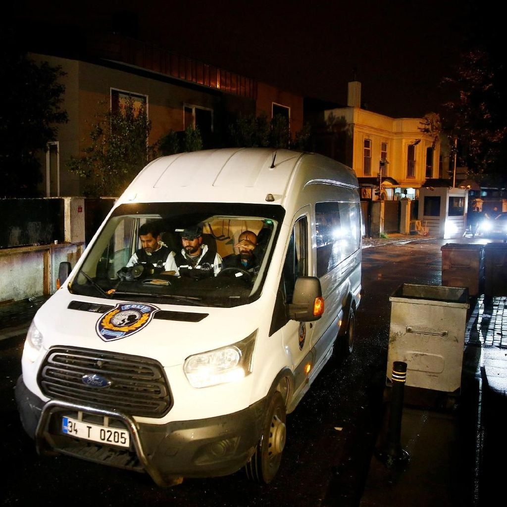 Mengintip Pemeriksaan Diduga Lokasi Pembunuhan Wartawan Khashoggi