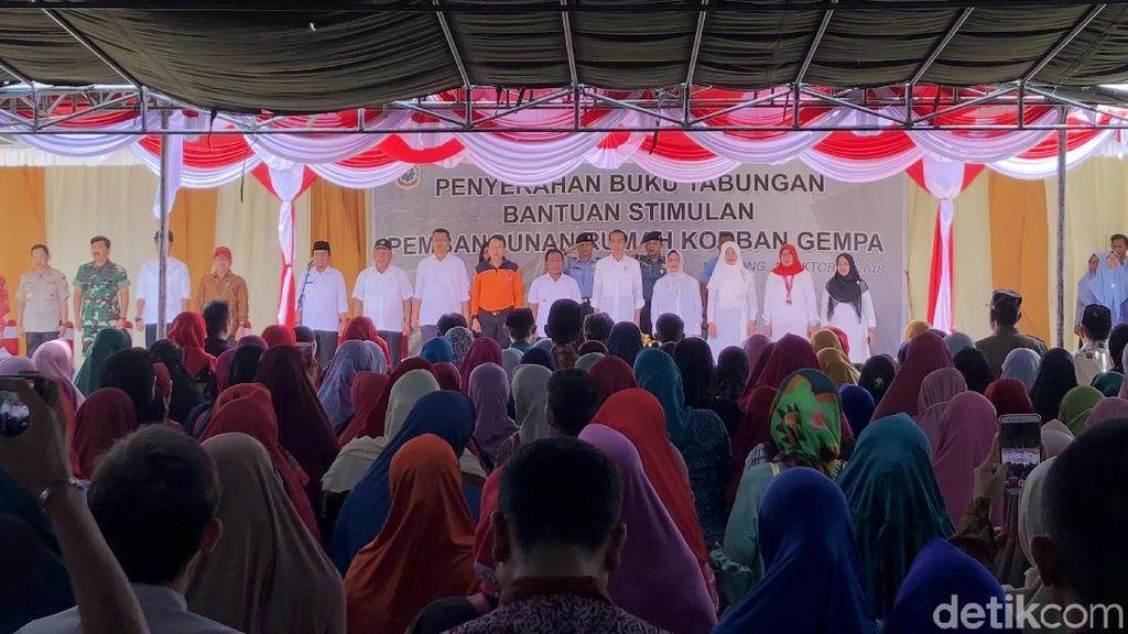 Jokowi Minta Warga NTB yang Belum Dapat Bantuan Stimulan Bersabar