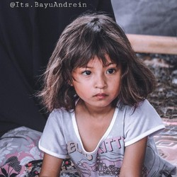 Ketegaran Jihan, Anak Cantik Korban Gempa Palu