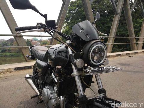 Modifikasi Suzuki Inazuma 250