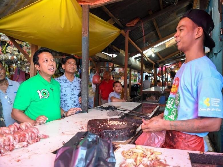 Pantau Harga Sembako di Pasar, Rommy: Harga-harga Stabil