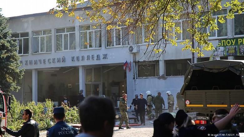 Serangan Bom di Krimea, Pelaku Tembak Dirinya Sendiri