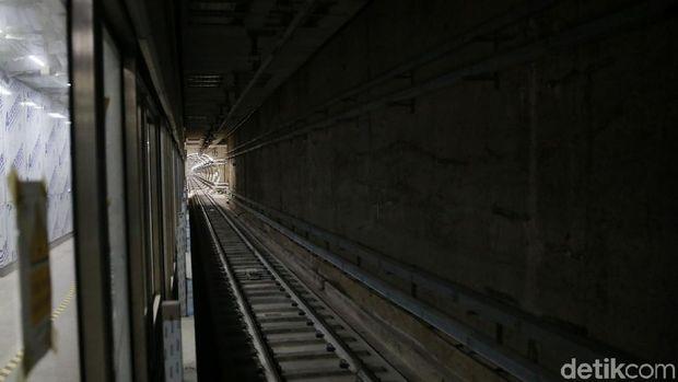 Jalur bawah tanah MRT Jakarta
