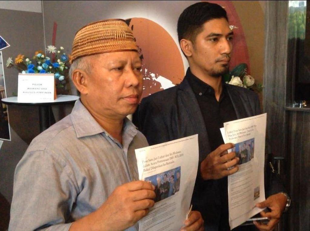 Luhut dan Sri Mulyani Dilaporkan ke Bawaslu Terkait Pose Satu Jari