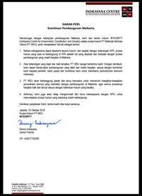 Ini Pernyataan Denny Indrayana yang Bikin KPK Keberatan