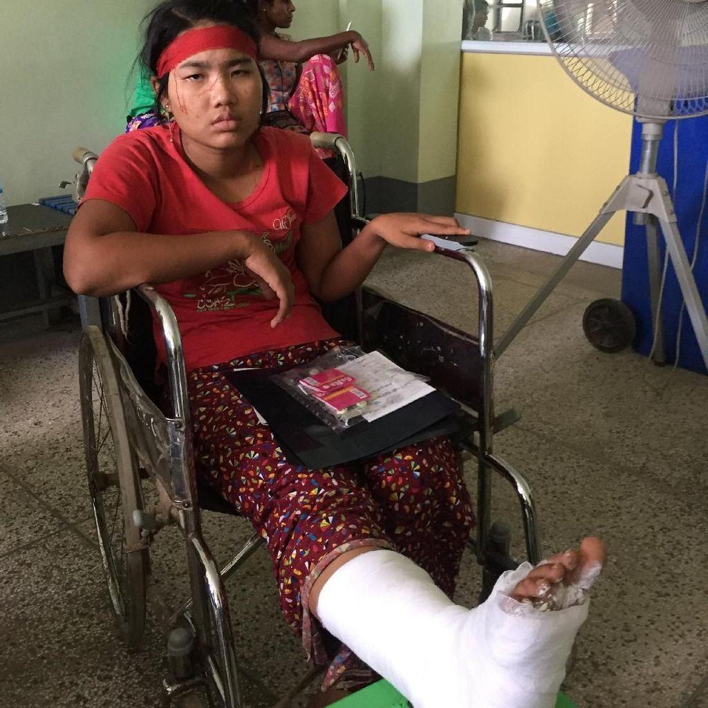 Demo Pekerja Garmen di Myanmar Ricuh, Puluhan Terluka