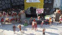 Foto: Pantai Barbie di Amerika Serikat
