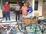 Pemuda Ini Curi Ratusan Sepeda, Hasilnya Dijual Via Online