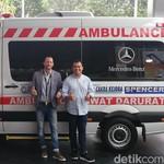 Mercy Dibikin Ambulans, Ini Harganya