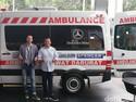 Mobil Mercy Disulap Jadi Ambulans