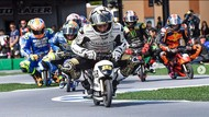 Ketika Pebalap MotoGP Adu Cepat Pakai Motor Mini
