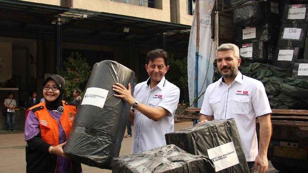 Gandeng Baznas, Karpowership Indonesia Kirim Bantuan ke Sulteng