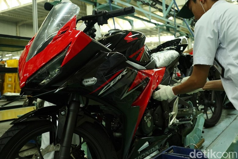 Ilustrasi Honda CBR Foto: Dok. Astra Honda Motor