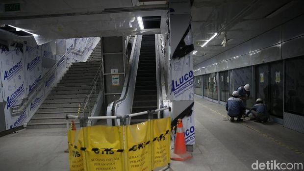 Stasiun bawah tanah MRT Jakarta