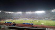 Hari Pertama Piala Asia U-19 di GBK Sepi Penonton