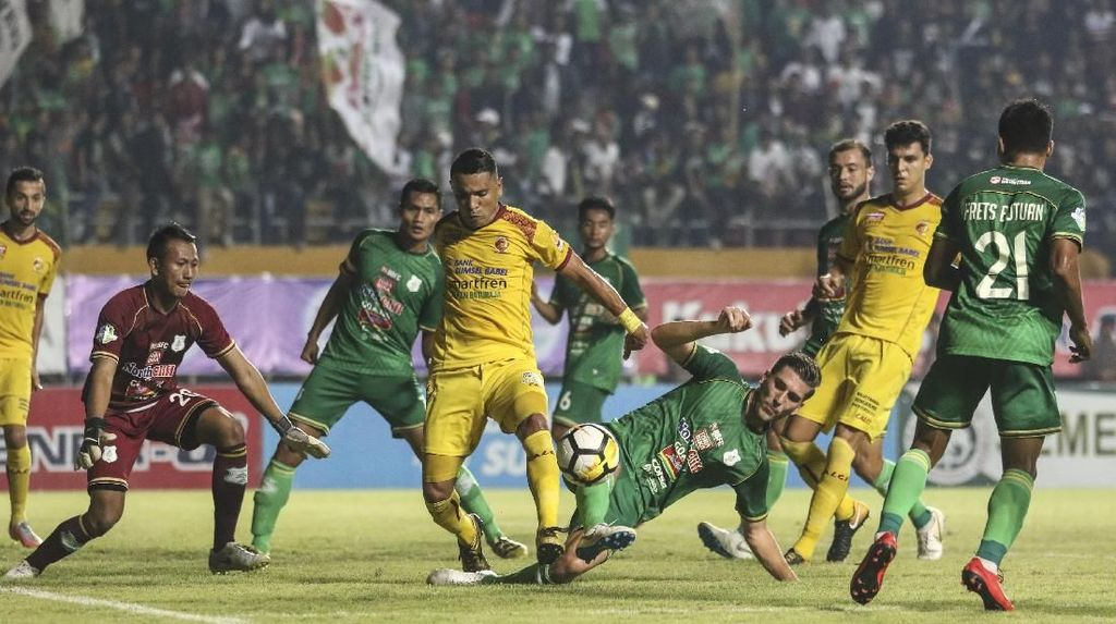 Hasil Sriwijaya vs PSMS: Ayam Kinantan Menang 3-0