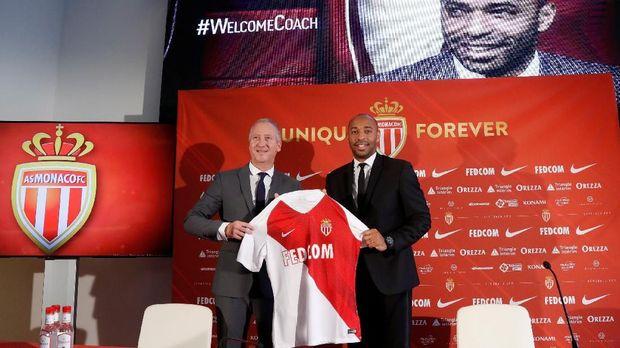 Thierry Henry hanya bertahan 20 pertandingan sebagai pelatih AS Monaco.