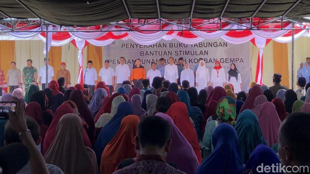 Jokowi ke Lombok Lagi, PPP Harap Percepat Penyaluran Bantuan