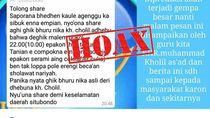 Catut Nama Kiai, Info Hoax Gempa Kembali Resahkan Warga Situbondo