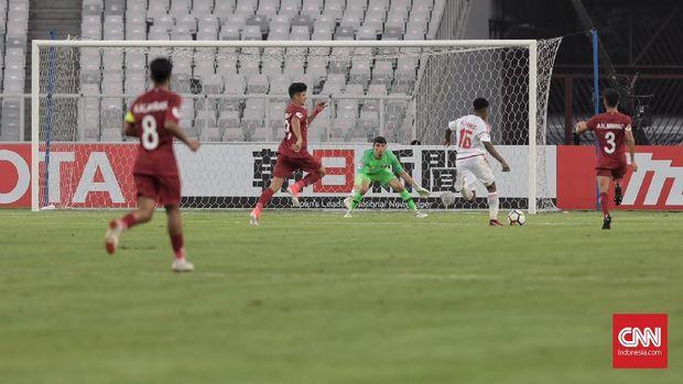 Uni Emirat Arab U-19 untuk sementara memuncaki klasemen Grup A Piala Asia U-19 2018.