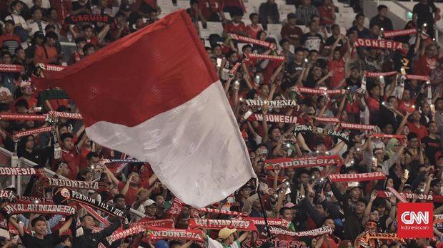 Suporter Timnas Indonesia menjadi salah satu yang paling fanatik di Asia Tenggara.